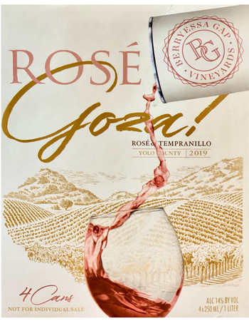 2019 Goza! Rosé of Tempranillo Cans
